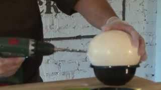 Омлет по-пекински из страусиного яйца