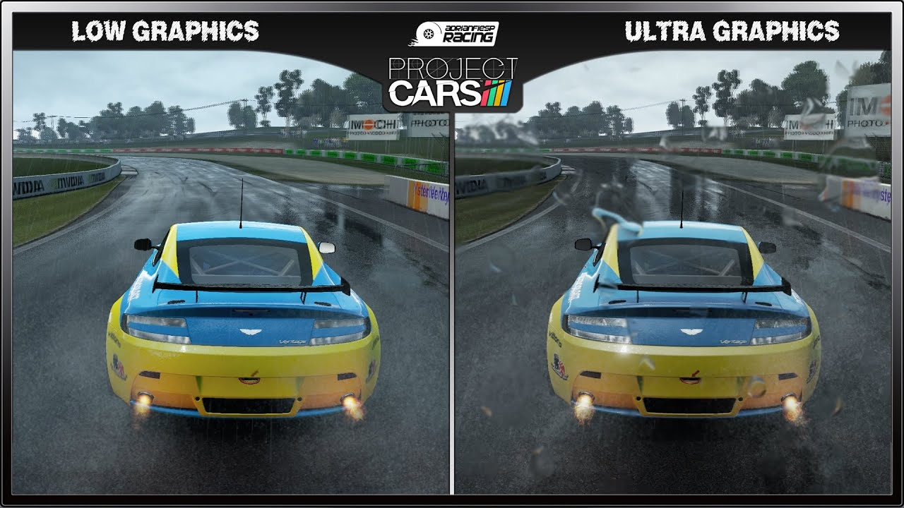 Project Cars  Graphics Comparison
