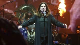 Black Sabbath - intro & Black Sabbath (Live @ Genting Arena, Birmingham, 2017.February.04)