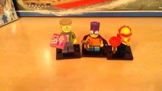 Обзор Минифигурок Симпсонов Lego Minifigures Lego Simpsons