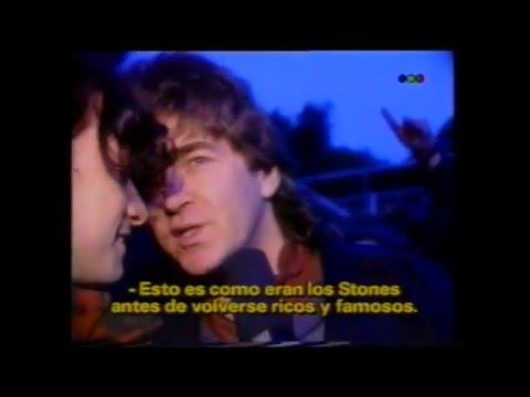 Los Ratones Paranoicos & Mick Taylor   Informe de TV La Cueva TELEFE 1993