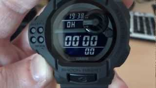 Casio G-Shock GDF-100BB-1DR (Solid Colors - Basic Black)