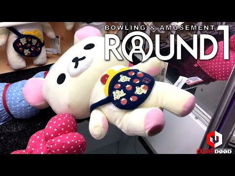 UFO Catcher WINS! | Winning at Round1 Arcade Grapevine Mills ft. Nerdy Traveler | Clawd00d