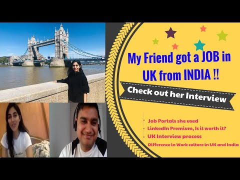 My Friend's Journey of Getting a Job in UK directly from India | Indian Vlogger in England