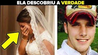 Minutos Antes do Casamento, Noiva Segura as Mãos do Noivo e Percebe a Verdade Sobre Ele