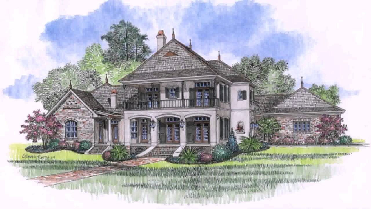 Acadian style house plans baton rouge youtube for Acadian home plans