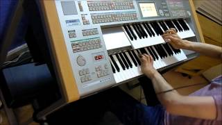Music from The Lord of the Rings Trilogy on YAMAHA STAGEA ELS-01C Electone Organ