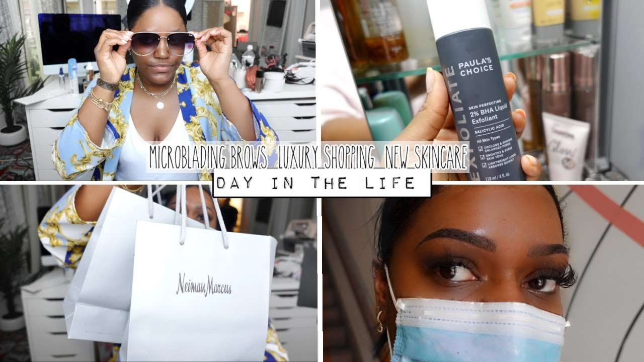 Summer Day in my life Vlog #8 | Microblading, Luxury Shopping & Sephora Haul!