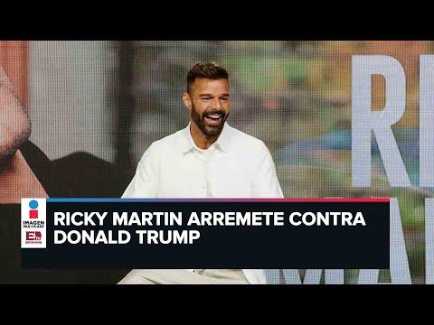 Instagram sanciona a Ricky Martin por arremeter contra Donald Trump