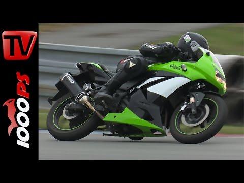Kawasaki Ninja 250 - Einsteiger am Ring | Gripparty Brünn 2016