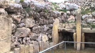 The Ġgantija Temples, Xagħra, Maltese island of Gozo