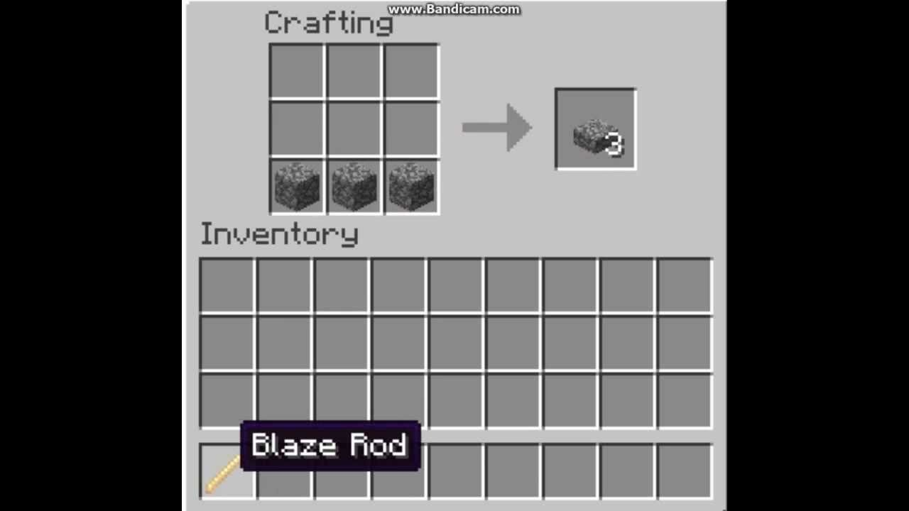 How To Make A Brewing Stand On Minecraft Youtube
