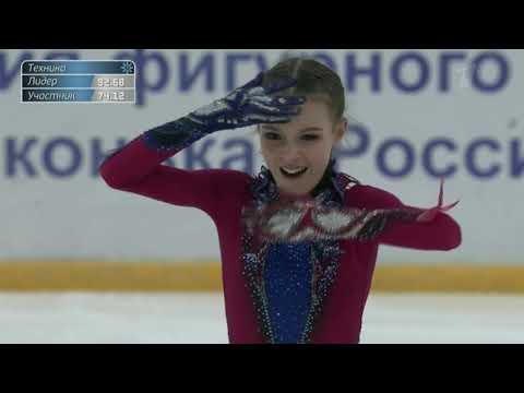 Anna SHCHERBAKOVA Free Skate 2019 Russian National Championships