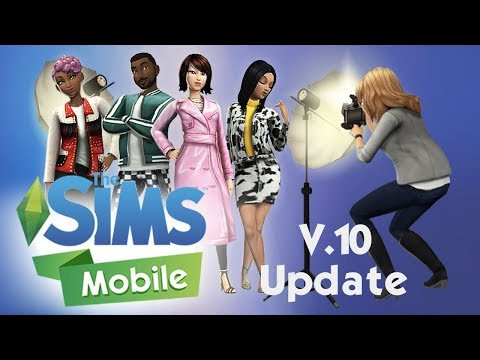 What's New in The Sims Mobile v. 10.0.0 Update + The Start of the ASOS Event