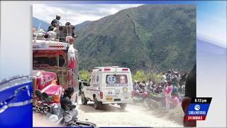 Al menos seis muertos y nueve heridos deja fuerte accidente en Cauca
