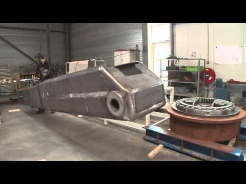 Cramm Yachting Systems - Deck crane