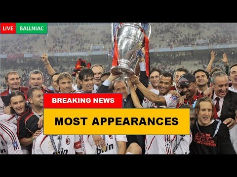 Top 7 Clubs with MOST Champions League Final appearances in History