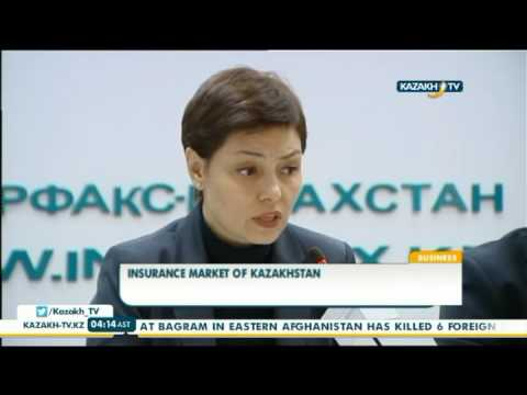Insurance market of Kazakhstan slows down each year - Kazakh TV