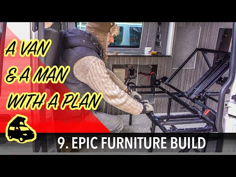 Epic furniture build and rock n roll bed install