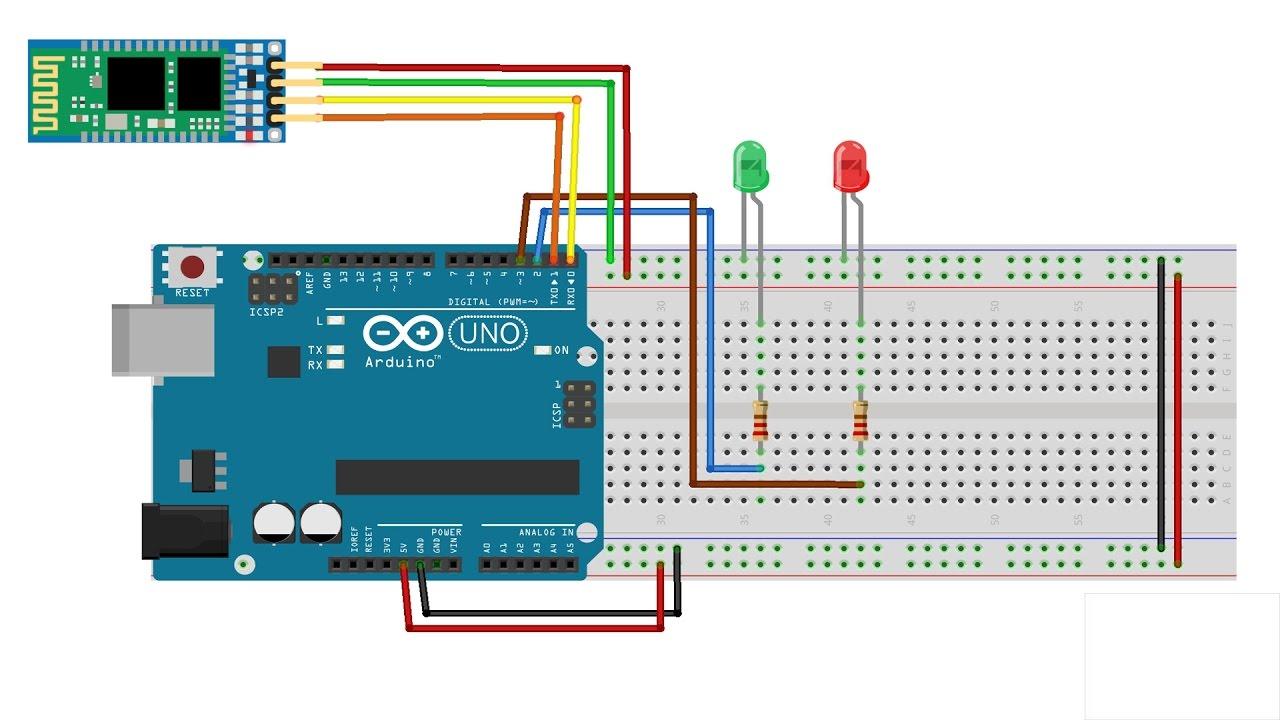 Con Bluetooth Arduino Por Leds Encender 67vbyYgf