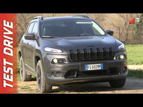NEW JEEP CHEROKEE NIGHT EAGLE 2017 - FIRST TEST DRIVE