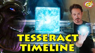 Complete Tesseract Timeline Explained || Space Stone MCU ||  #ComicVerse