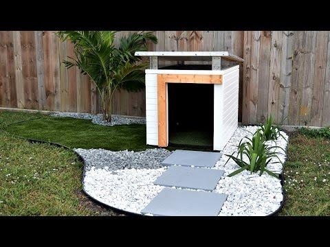 Dog House landscaping