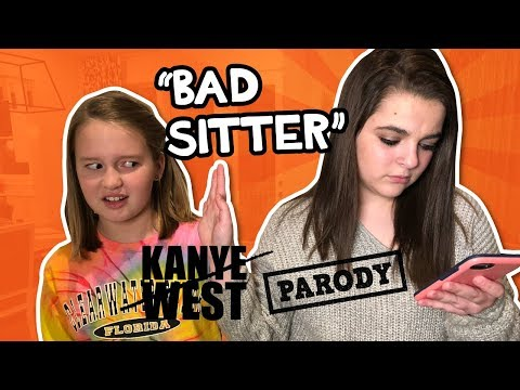 Bad Sitter: Gold DIgger - Kanye West PARODY  // The Holderness Family