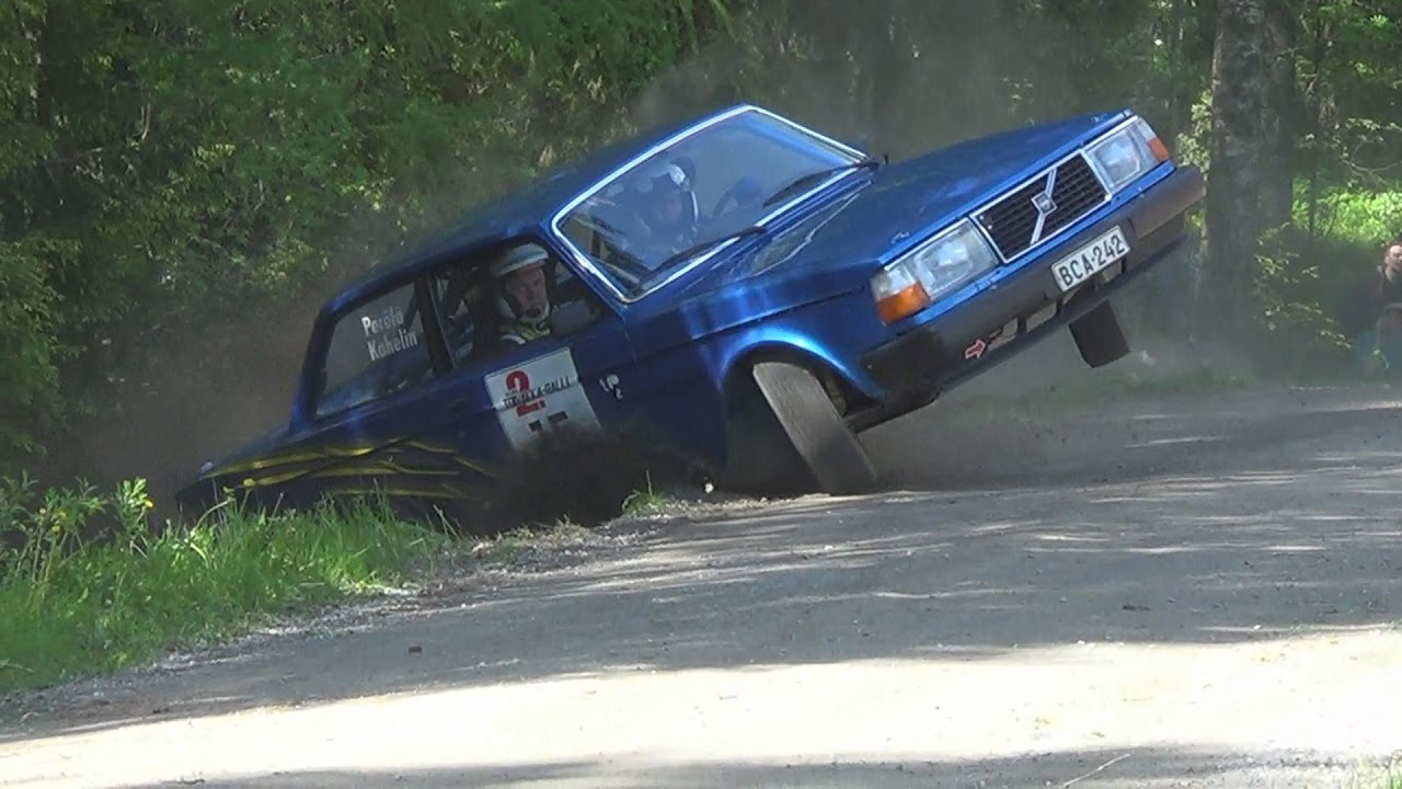 Volvo 240 Rally Compilation - YouTube