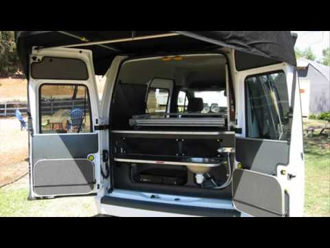 Ford Transit Connect Camper Conversion Youtube