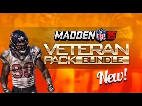 Madden 15 Ultimate Team Ep.3 - VETERAN Pack Opening Bundle! All-Pro Packs? | Madden 15 Pack Opening