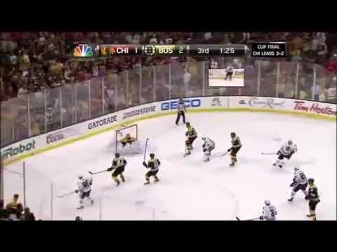 Two goals in 17 seconds Blackhawks 2013 Stanley Cup