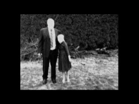 Scary Slenderman Cult film - Old Recovered...