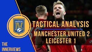 Manchester United vs Leicester City 2-1   Tactical Analysis   How Leicester frustrated Man United