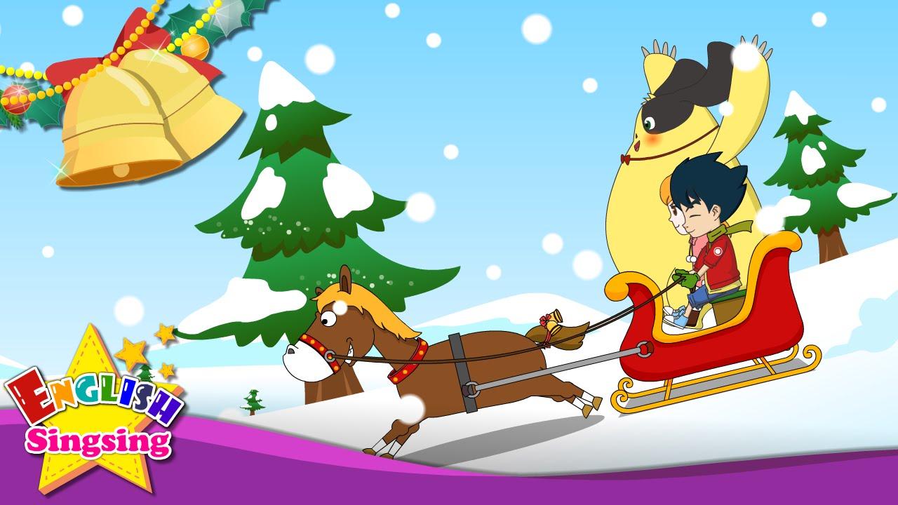 Jingle Bells - Christmas Song for kids - with Lyrics - YouTube