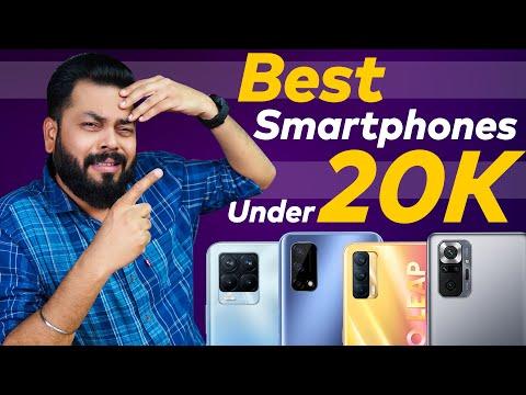 Top 5 Best Smartphones Under ₹20000 Budget ⚡ May 2021