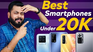 Top 5 Best Smartphones Under ₹20000 Budget ⚡ May 2021