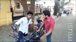 Polladhavan Comedy Scene | Dhanush | Santhanam | Rahul RR Dubsmash |