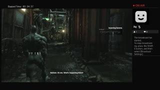 Batman arkham city livestream gameplay 2