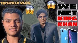 WE MET KING KHAN  | KOLKATA | MWM | TECHTALK VLOG PT.3