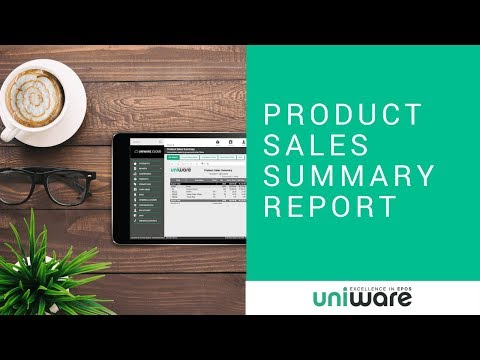 uniware-cloud---product-sales-summary-report