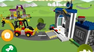 Lego Juniors! Лего Игры! Экскаватор на Дороге! Серия 9! Лего смотреть онлайн!