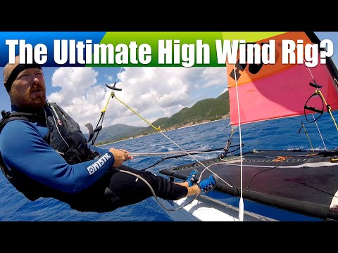 Hobie 16 Easy Junior Sail  The Ultimate High Wind Sail?