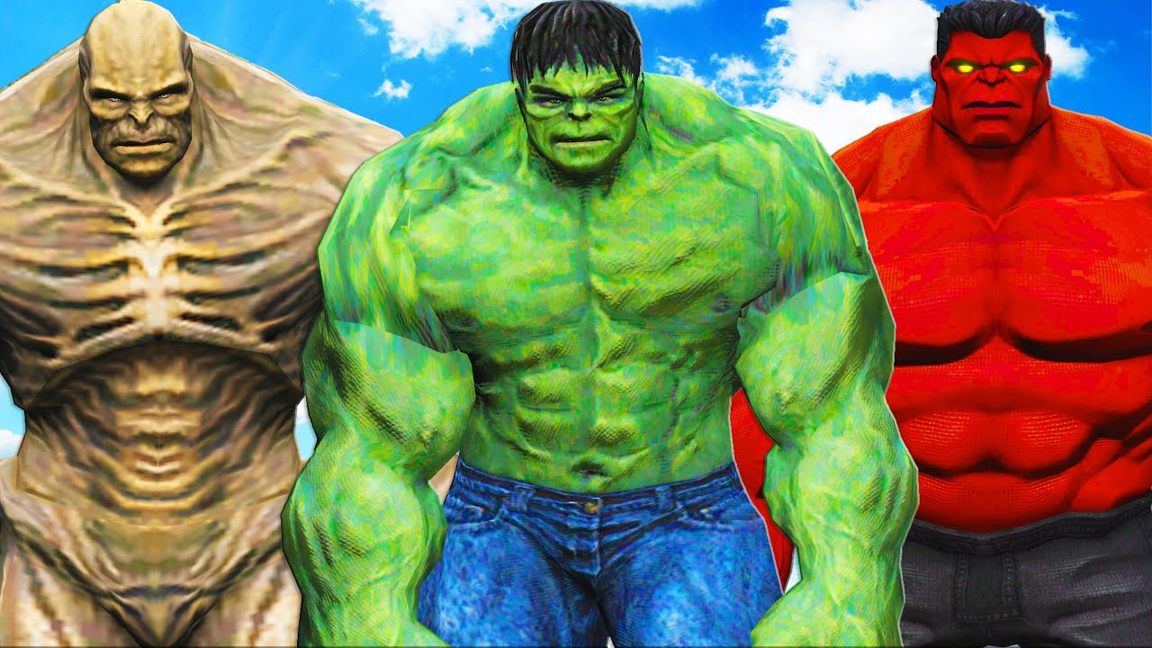Download The Incredible Hulk vs Red Hulk & Abomination - Epic Battle
