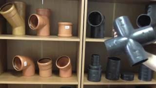 Фитинги для дренажных труб(Какие использовать фитинги для дренажной трубы?, 2016-06-29T06:26:24.000Z)