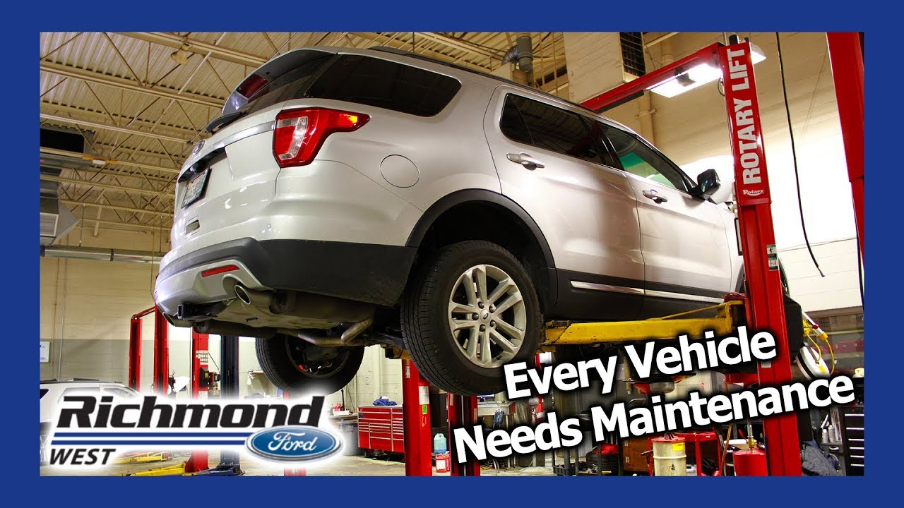 Ford Explorer Maintenance Schedule When You Need Service