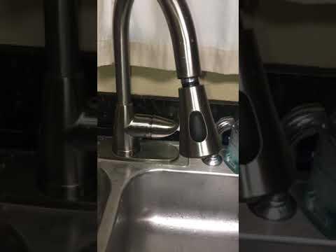 Glacier Bay Kitchen Faucet Flow Problem Solved Youtube