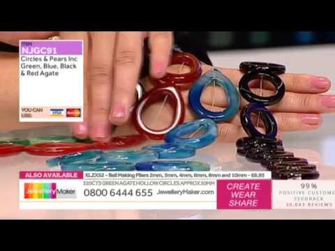 Learn How to Make Wirework Jewellery [Tutorial]: Jewellery Maker DI 15/09/14