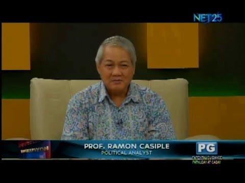 Diskusyon: Prof. Ramon Casiple, Political Analyst  (July 21, 2017)