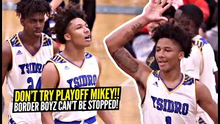 DON'T TRY Mikey Williams & Jurian Dixon In The Playoffs!! Mikey SILENCES The CROWD In Semi-Finals!